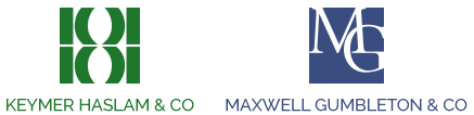 Keymer Haslam & Co & Maxwell-Gumbleton & Co, West Sussex logo